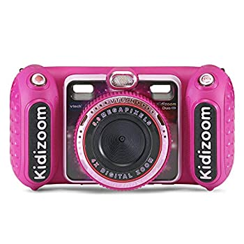 VTech KidiZoom Duo DX Digital Selfie Camera with MP3 Player Pink