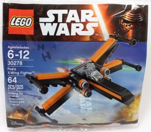 LEGO 30278 Star Wars Poe\'s X-Wing Fighter 64pcs NEW FREE SHIPPING by LEGO