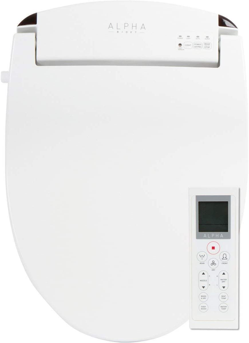 excellence ALPHA JX Elongated Bidet Toilet Seat Endless White Warm Ranking TOP17 Water