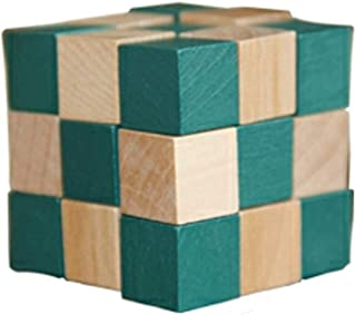 L-H Rubi's Cube/drewno kostka/gra logiczna dla początkujących dzieci/operacja logiczna / praca dekompresja lęków zabawka d...