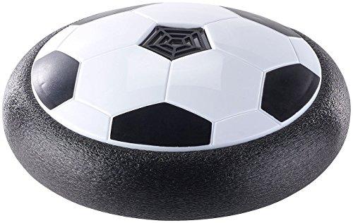 Playtastic Hoover Ball: Schwebender Luftkissen-Indoor-Fußball mit Möbelschutz und Farb-LEDs (Hover Fußball)