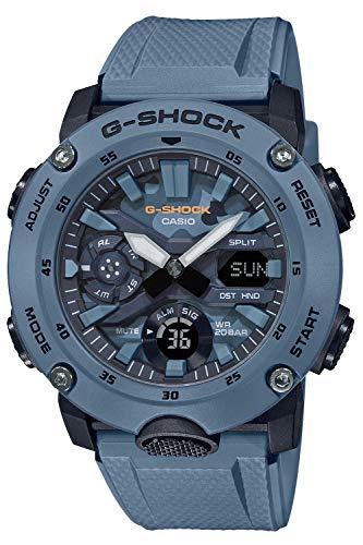 『[カシオ] 腕時計 ジーショック ユーティリティカラー カーボンコアガード構造 GA-2000SU-2AJF メンズ ブルー』のトップ画像