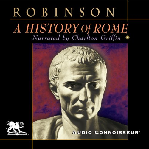 A History of Rome audiobook cover art