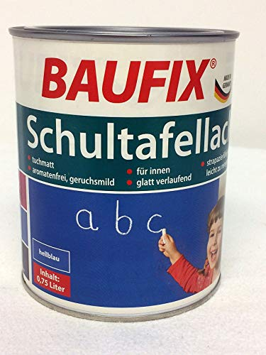 Baufix Schultafellack hellblau 750 ml