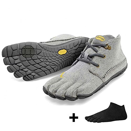 Vibram FiveVibram CVT Wool Men + Zehensocke, Size:40;Color:Grey