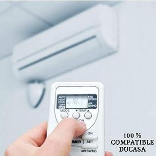 Mando Aire Acondicionado DUCASA - Mando a Distancia Compatible 100% con Aire Acondicionado DUCASA Entrega en 24-48 Horas. DUCASA MANDO COMPATIBLE