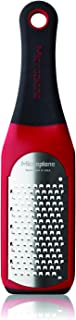 Microplane 42101 Artisan Coarse Cheese Grater and Kitchen Utensil - Red