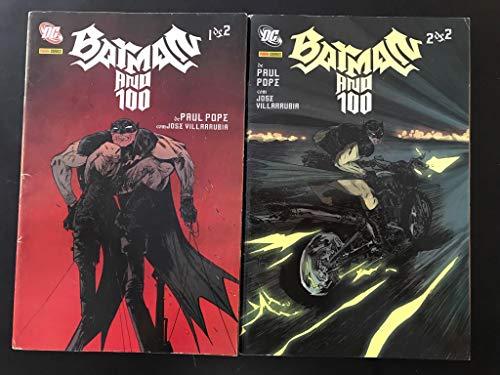 Batman Ano 100 vol 1 e 2 (capa comum, Panini)