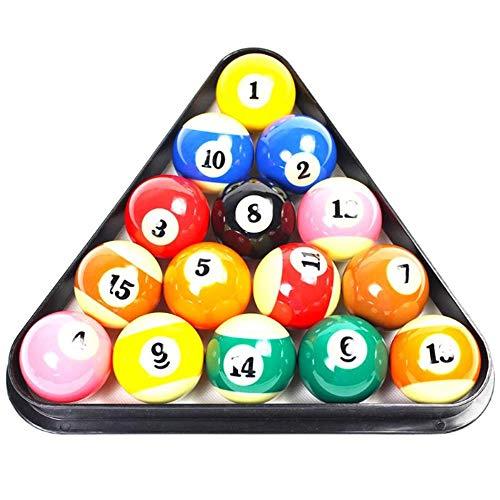 COMPY Spielausrüstung Zubehör 8 Ball Kunststoff Pool Billard Tisch Rack Dreieck Rack Standardgröße Board