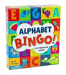 Homeschool Kindergarten: Play Alphabet Bingo!