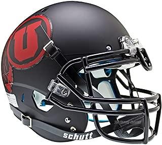 Utah Utes Red Black Officially Licensed XP Authentic Football Helmet