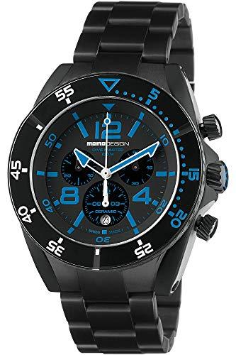 MOMO Design Reloj Informal MD1281BK-20