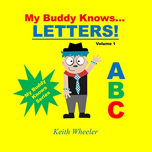 My Buddy Knows...Letters audiobook cover art