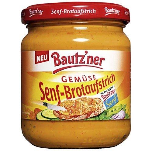 Bautzner Senf-Brotaufstrich 'Gemüse' (200 ml)