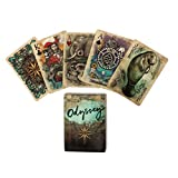 Odyssey Historical Themed Poker Size Playing Cards Uniquely Illustrated for Cardistry or Magic Card Tricks
