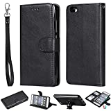 Shell mobile Pour Huawei P8 Lite Portefeuille de portefeuille Carte de crédit Slot Slot Stand Case...