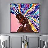 Poster per ragazza Decorazione per interni Pittura astratta su tela Stampe di cartoni animati Immagini di arte della parete per soggiorno Decorazioni per la casa moderne 20x20 CM (sans cadre)