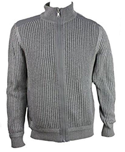 Men's Knit Full Zip Sweaters