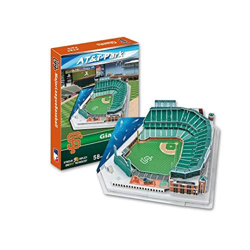Kw-tool Stadium 3D Puzzle Stadium Modell, Souvenir, MLB San Francisco Giants American Telephone Telegraph Baseball Field Model Fans Souvenir DIY Puzzle