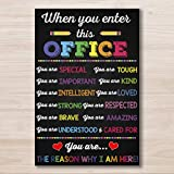AprilLove When You Enter This Office You are...