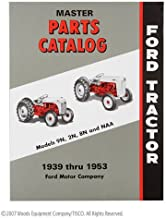 FORD TRACTOR MASTER PARTS CATALOG, 9N, 2N, 8N