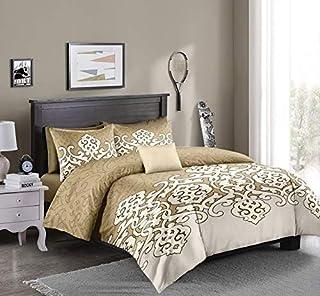 Flower Comforter Single 4Pcs Set,160x220cm