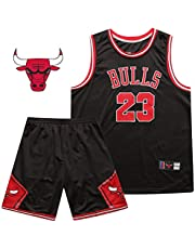 SSRSHDZW NBA Bulls No. 23 Jordan - Traje de