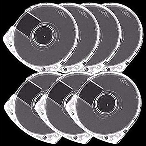 Warmshine 5 PCS DVD CD Case 7mm Double Clear UMD Replacement Shell, Apply for Most Game DVD CD