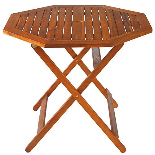 ぼん家具 ガーデン テーブル 折りたたみ 木製 庭 屋外 ガーデンテーブル テーブルのみ おしゃれ