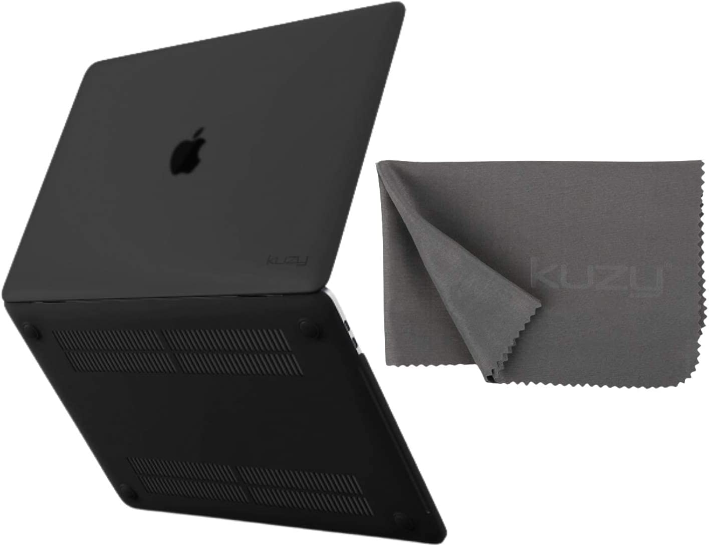 Kuzy Compatible with MacBook Pro 13 inch Case with Microfiber Keyboard Cover Cloth 2020 2019 2018 2017 2016 Release A2338 M1 A2289 A2251 A2159 A1989 A1706 A1708, Non-Slip