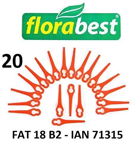Florabest 20 kunststof messen Florabest accu grastrimmer FAT 18 B2 - LIDL IAN 71315 - FAT 18B2 / FAT18B2 / materiaal PA6