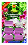Compo (x24 6 Gratis Varitas Fertilizantes para orquídeas, Adecuada duración de hasta 3 Meses, 30 Unidades, 24.3 X 14.4 X 0.5 Cm