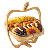Oh! Nuts Dried Fruit Gift Basket | Healthy No Sugar Added Huge Assortment of Dried Fruit Gourmet Holiday Gift | Food Snack Set Ideas for Rosh Hashanah, Christmas, Thanksgiving, Sympathy, Birthday Gift