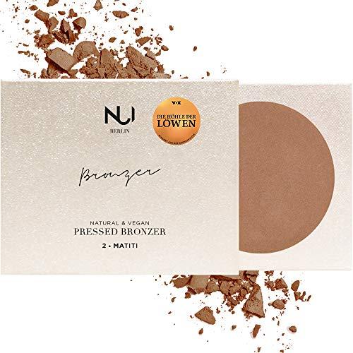 NUI Cosmetics Natural Pressed Bronzer MATITI - Naturkosmetik vegan natürlich glutenfrei - Bronzer Puder für gebräunten Teint