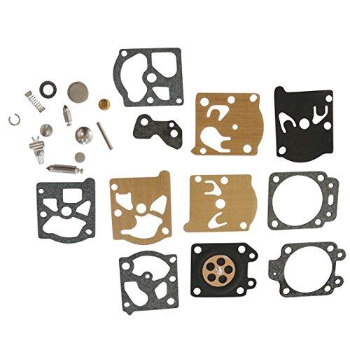 Générique Carburateur Kits de réparation Joints et Membranes Pour Sachs-Dolmar 100 102 109 110 111 115 340 400 BC330 Homelite 240 245 250 290 300 340 K20-WAT Walbro KIT- K20-WAT WA-198 WA-207 WA-214 WA-215