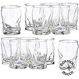 Bormioli Rocco 39676i1 Sorgente - Set di 12 bicchieri da acqua (300 ml)
