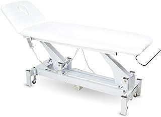 002301 Weiß (Mit Handbedienung) Elektrische Behandlungsliege Therapieliege Massageliege