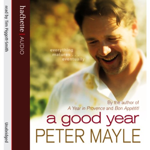 A Good Year audiobook cover art