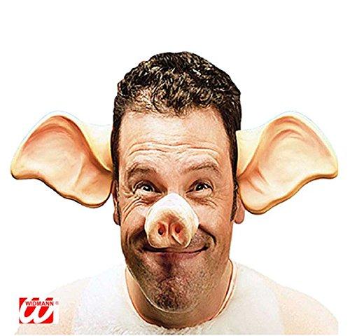 Mondial-fete - Nez de Cochon avec élastique