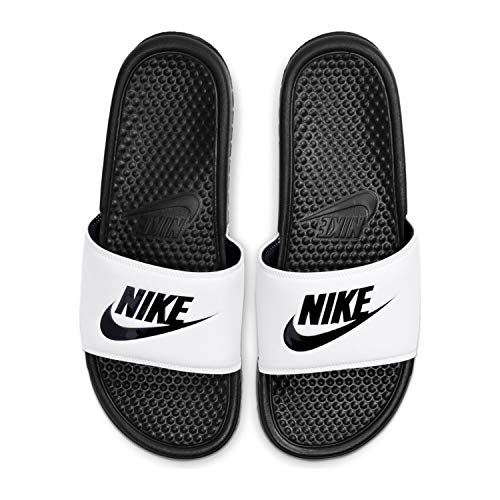Nike Badeslipper, Weiß, Größe: 44