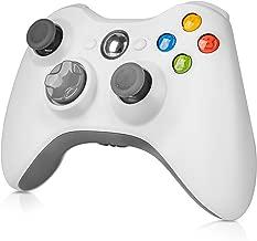 $25 » Wireless Controller for Xbox 360, WeiCheng Gamepads Joystick Joypad Remotes Controller Wireless for Xbox 360 Microsoft, Windows7/8/10, 2.4Ghz, White