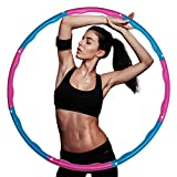 ieGeek Weighted hula hoop fitness Exercise Hoola Hoops for adults,Kids,Hoola Hoops Bulk,Professional Soft...