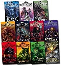 The Darren Shan Demonata Collection 11 Books Set (The Thin Executioner, Demon Thief, Lord Loss, Slawter, Hell's Heroes, Wo...