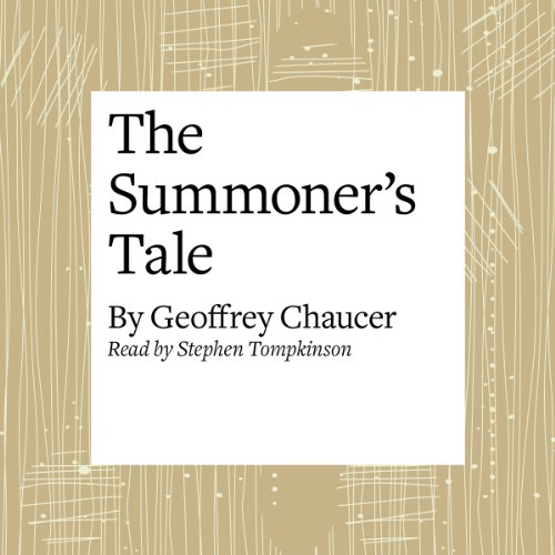 The Canterbury Tales: The Summoner's Tale (Modern Verse Translation) audiobook cover art