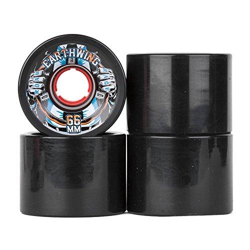 Earthwing Road Rage Longboard Rollen 84A - 66mm - schwarz - Cruiser Wheels