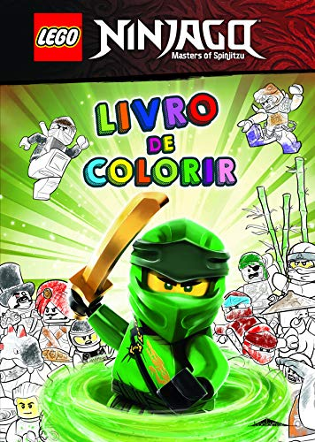 Lego Ninjago. Livro De Colorir