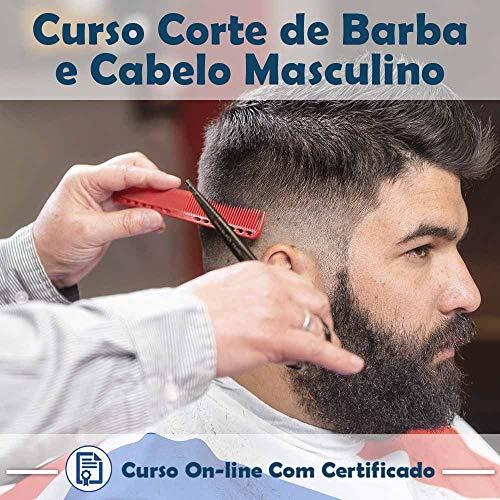 Curso Online de Corte de Barba e Cabelo Masculino com Certificado