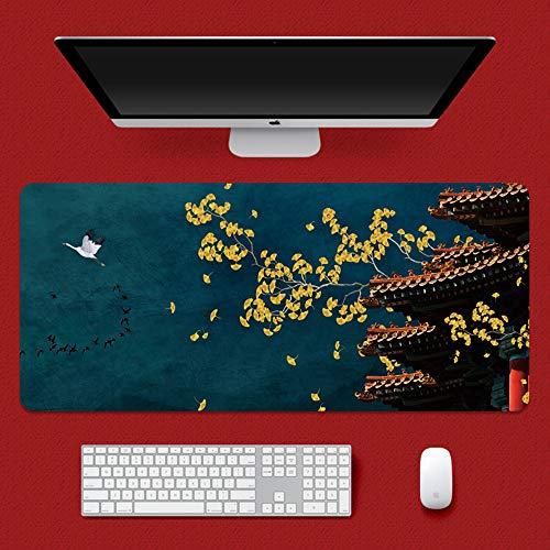 Gaming muismat XXL wereldkaart 800x300x2 mm anti-slip bureauonderlegger tafelonderlegger mat multifunctionele Office muismat I