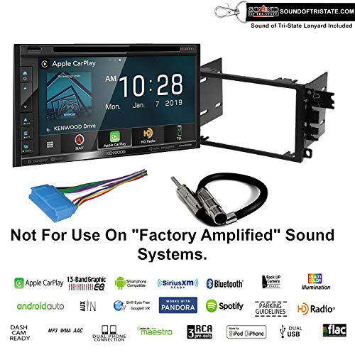 Review Of Sound of Tri-State Kenwood Excelon DNX696S Navigation Receiver + Install kit fits 1995-200...