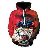 zysymx Dragon Ball Z Vegeta Auferstehung Hoodies Frauen Männer Anime Saiyajin Goku/Majin...